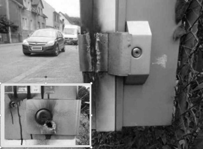 Der aufgeschweißte Automat