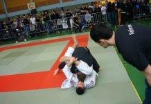 """Sportler beim Kampfsport """"Submissao"""" (Foto: Hannes Blank)"""