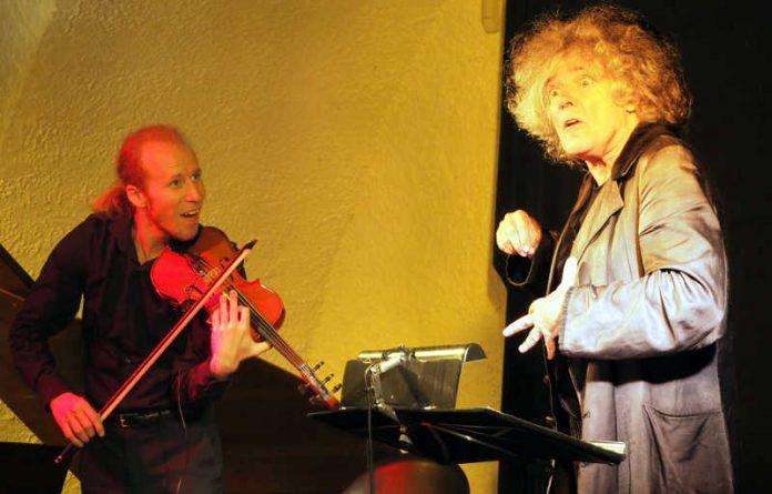 Ohren- und Geistesschmaus Moritz Stoepel (rechts) und Christopher Herrmann