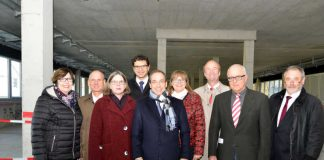 Richtfest Mainz Uni