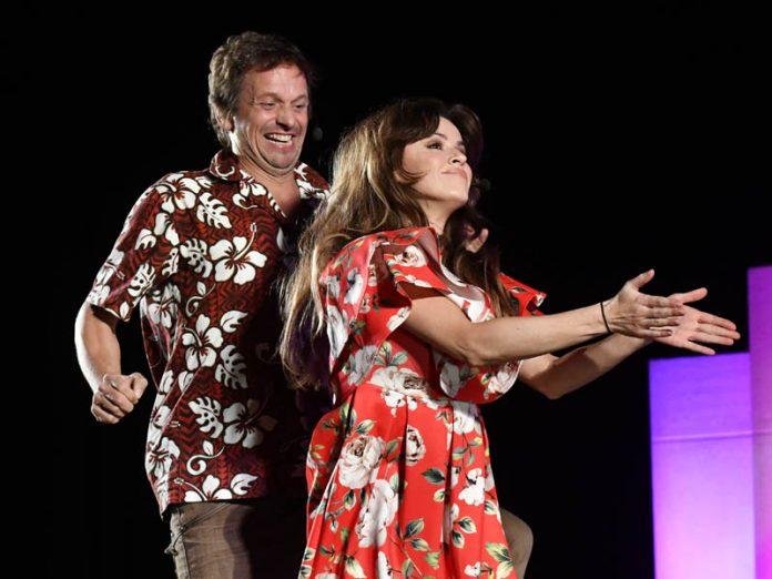 Natalia Avelon und Ronald Spiess (Foto: Helmut Dell)