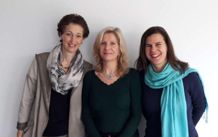 Almut-Maie Fingerle, Ulrike Penzien und Almut Werner