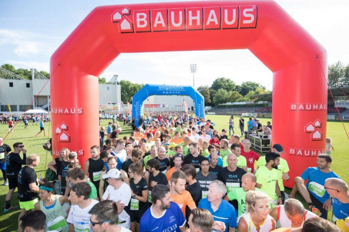 BAUHAUS ist neuer Titelsponsor des Firmenlaufs (Foto: n plus sport GmbH)
