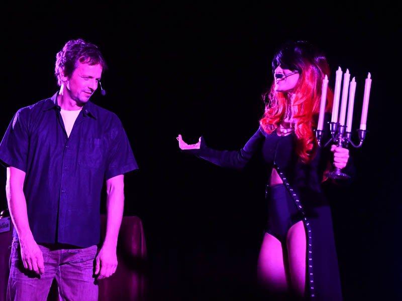 Natalia Avelon und Ronald Spiess (Foto: Helmut Dell
