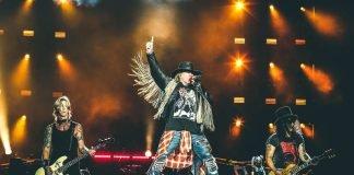 Guns N' Roses (Foto: Team Brazil)