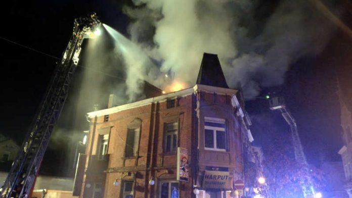 Wohnungsbrand im Dachgeschoss Bleichstr.