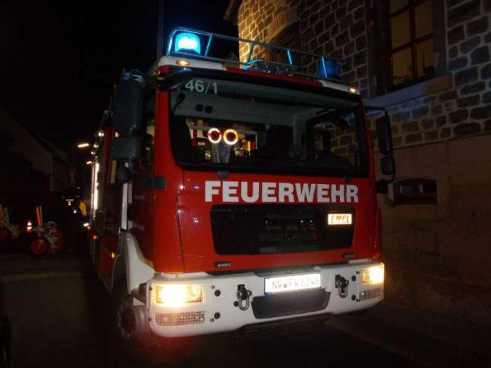 Feuerwehrfahrzeug (Foto: Polizei RLP)
