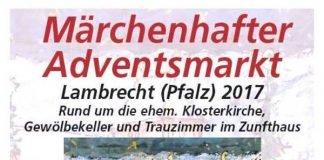 Veranstaltungsplakat (Quelle: Stadt Lambrecht)