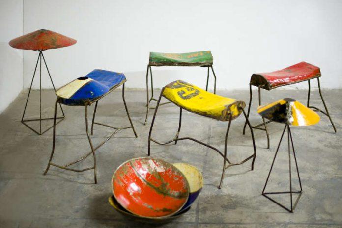 """Ausstellung """"Moogoo – Kunst und Möbeldesign aus Burkina Faso"""" (Quelle: polina kluss photography / Foto: Elliott Martin)"""