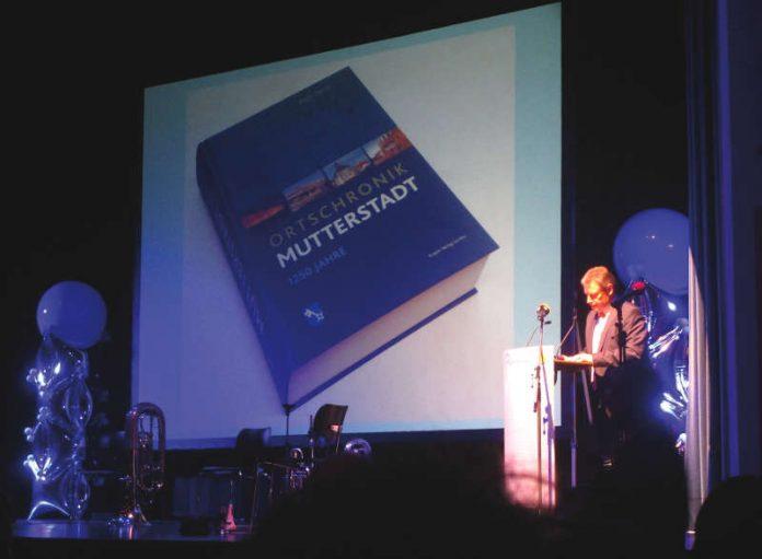 Professor Dr. Kurt Andermann hielt die Festrede (Foto: Gemeindeverwaltung Mutterstadt)