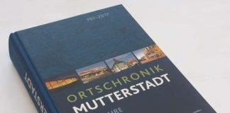 Die Ortschronik Mutterstadt (Quelle: Gemeindeverwaltung Mutterstadt / Knecht Verlag Landau)
