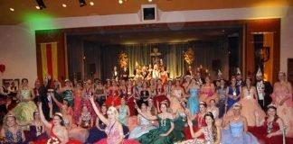 Gruppenfoto beim Ball der Prinzessinnen (Foto: Dieter Augstein)