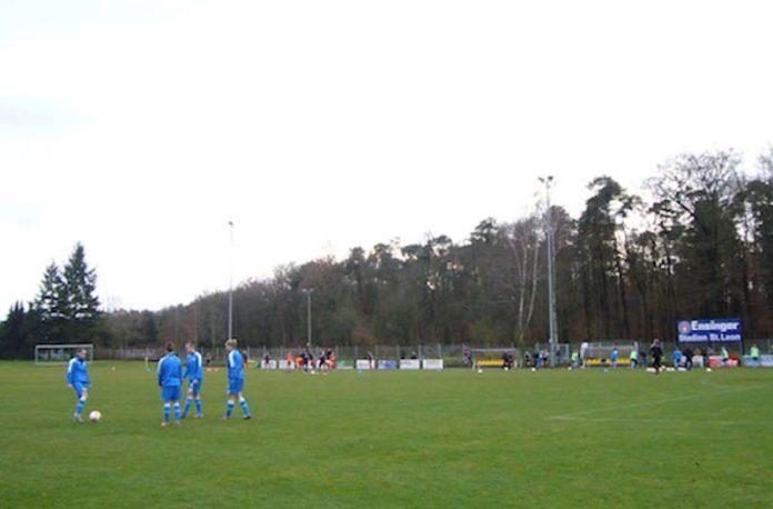Das Ensinger Stadion in St. Leon-Rot (Foto: Hannes Blank)
