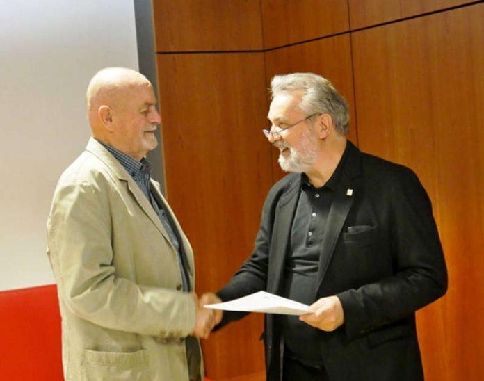 Franz Peter (Ben) erhielt den Umweltschutzpreis (Foto: Landkreis Darmstadt-Dieburg)