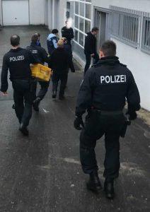Bundespolizei vollstreckt im Auftrag der Staatsanwaltschaft Frankfurt am Main 11 Duchsuchungsbeschlüsse im Rhein Main Gebiet