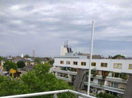 Das LoRaWAN-Netz wird rund 25 solcher Funkeinheiten umfassen, die über das Stadtgebiet verteilt sind. (Foto: ENTEGA AG)