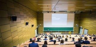 Feierliche Vergabe der Deutschlandstipendien an der Hochschule RheinMain (Foto: Hochschule RheinMain)