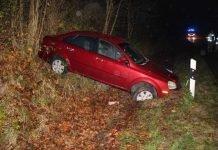 Unfallbeteiligtes Fahrzeug