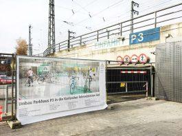 Umbau für die neue Fahrradstation am Hauptbahnhof (Foto: Fächer GmbH)