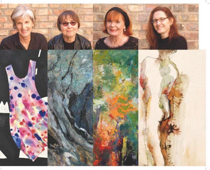 Vier Malerinnen aus Heidelberg stellen in Brühl ihre Werke aus (Foto: Bürgermeisteramt Brühl)