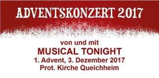 Veranstaltungsplakat (Quelle: Musical Tonight)