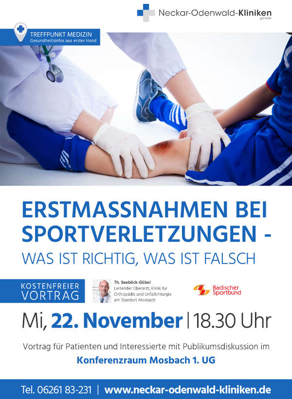 Veranstaltungsplakat (Quelle: Sportkreis Mosbach)