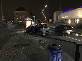 Verkehrsunfall am Bahnhof Waldhof