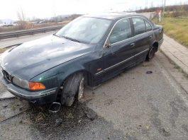 Verkehrsunfall auf der B41 - Bretzenheim