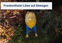 Wer erkennt den Löwen und kann der Polizei sagen wo er hingehört?