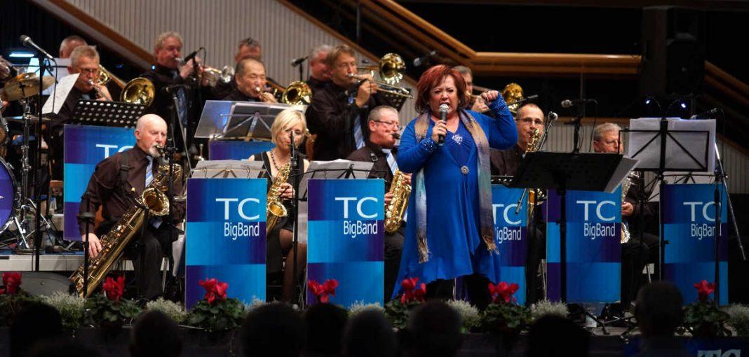Die TC Big Band gestaltete ein mitreißendes Konzert (Foto: Holger Knecht)
