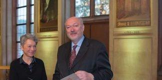 Verabschiedung von Prof. Dr. Manfred Niekisch (Foto: Bernd Kämmerer)