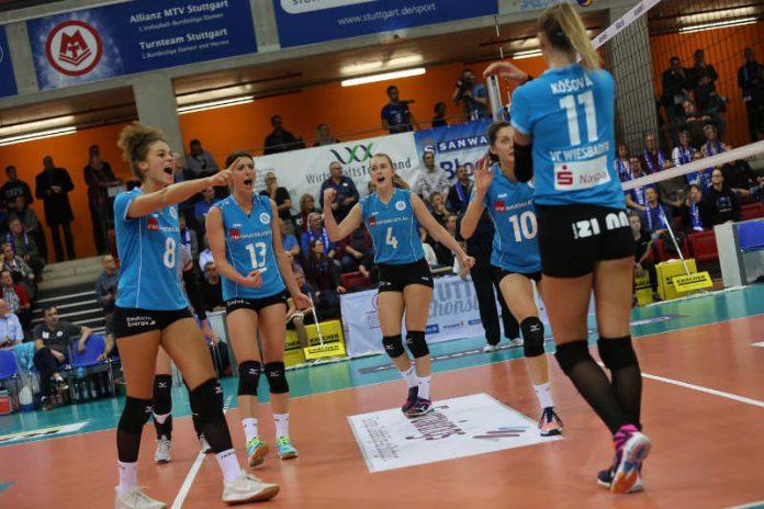 Sensation geglückt: VCW steht im Pokalfinale (Foto: Detlef Gottwald)