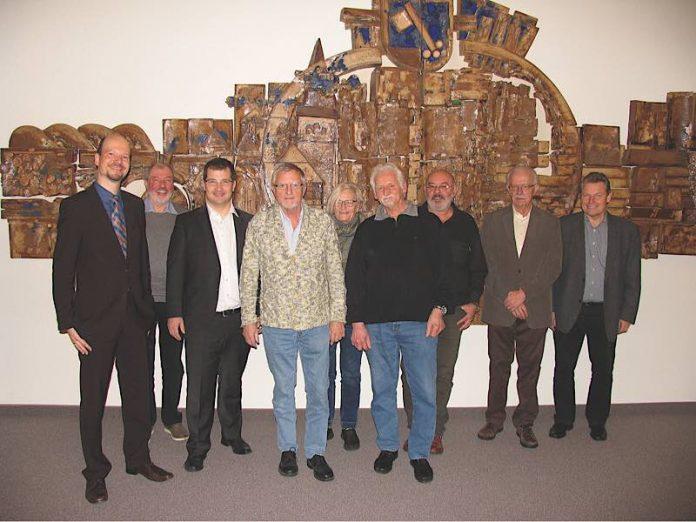 Von links: Kai Förster, Otto Hauck (hinten), Stefan Tittes, Werner Blaul, Monika Poignée (hinten), Georg Römich (Foto: Gemeindeverwaltung Mutterstadt)