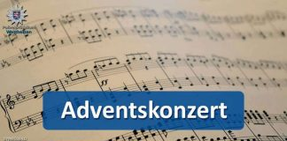 Adventskonzert-Ankündigung (Quelle: Polizeipräsidium Westhessen)
