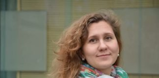 Bundeskanzler-Stipendiatin Anna Burova forscht für ein Jahr an der Frankfurt UAS. (Foto: Frankfurt UAS/Friederike Mannig)