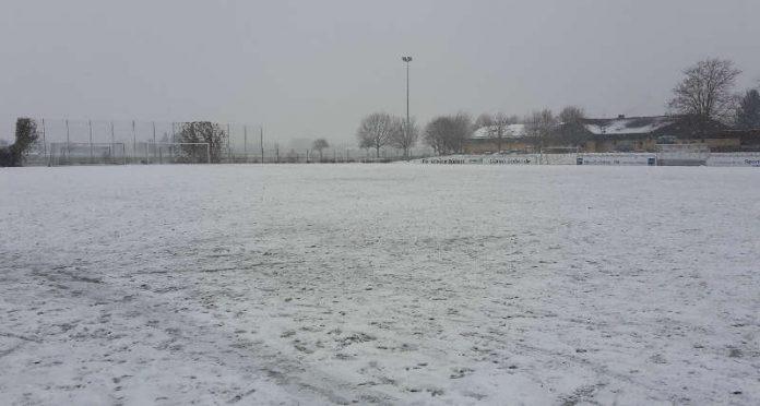 Fußballspielen war nicht möglich (Foto: VfR Mannheim)