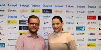 Adrian Stanik und Sophie Schouten (Foto: Eintracht Frankfurt)