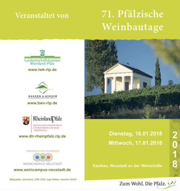 Ankündigung (Foto: Landwirtschaftskammer Rheinland-Pfalz)