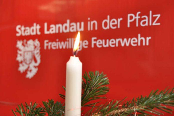 Die Freiwillige Feuerwehr Landau gibt Brandschutztipps für die Advents- und Weihnachtszeit. (Foto: Freiwillige Feuerwehr Landau)