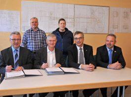 Vertragsunterzeichnung BHKW AZV Meckesheimer Cent (Foto: Peter Dorn)
