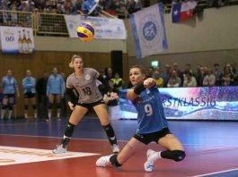 Fanden wir ihre Teamkolleginnen nicht ins Spiel: Dora Grozer (re.) und Lisa Stock (Foto: Detlef Gottwald)