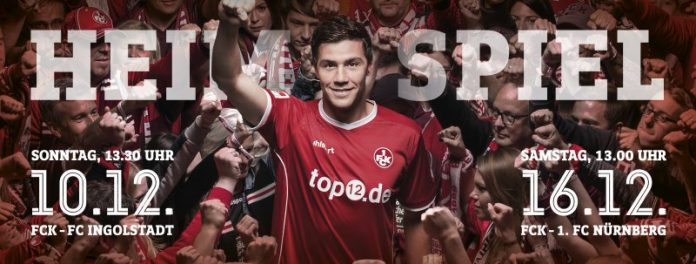 FCK Heimspiele (Quelle: 1. FC Kaiserslautern)