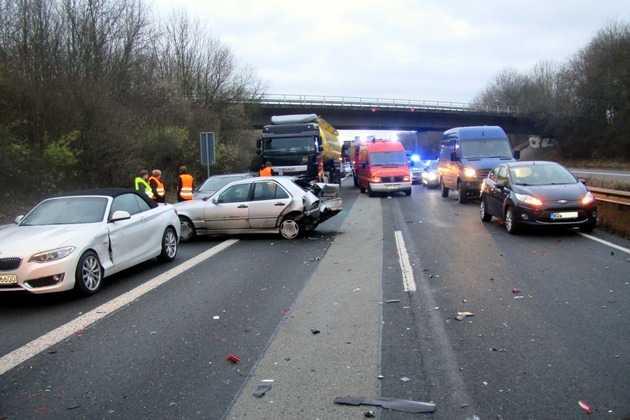 A63 Unfall