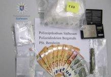 Sichergestelltes Rauschgift und Bargeld