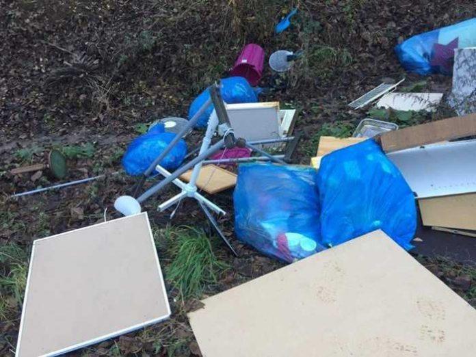 Illegale Müllentsorgung