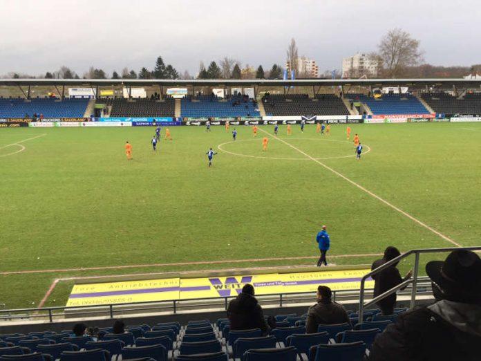 Der FC-Astoria Walldorf spielte gegen den FSV Frankfurt (Foto: FCA Walldorf)