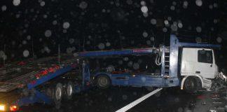 Der Transporter steckte fest (Foto: Polizei RLP)