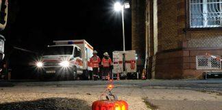 Die Bereitschaften des DRK Darmstadt sind auf alle Arten von Notfällen und Einsätzen vorbereitet. Dafür werden regelmäßig Übungen abgehalten. (Foto: Nicolai Althaus/DRK Darmstadt)