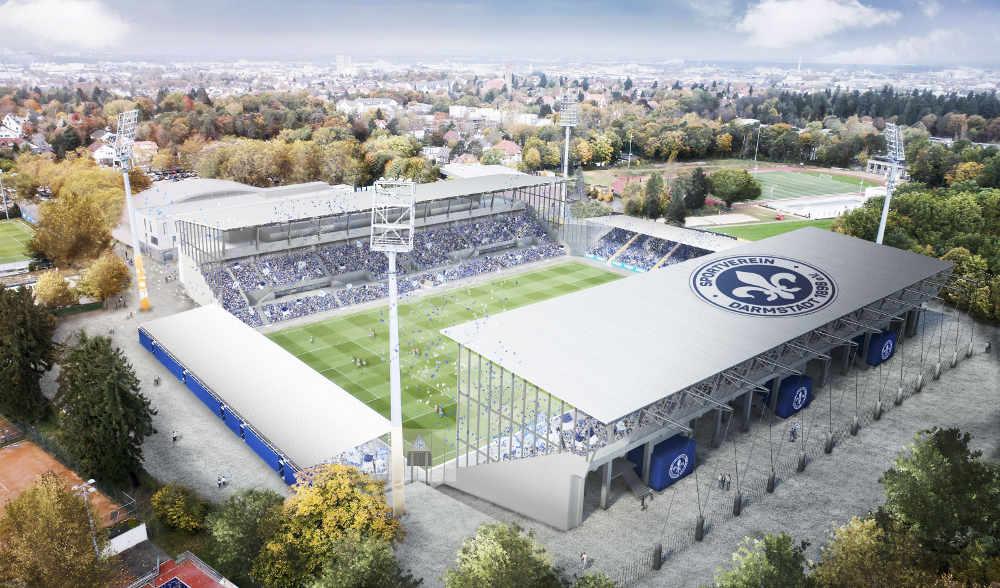 Stadion-Entwurf (Quelle: 1100 Architekten)