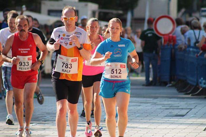 Läufer beim Ludwigshafener Stadtlauf (Foto: Ludwigshafener Sportverband)